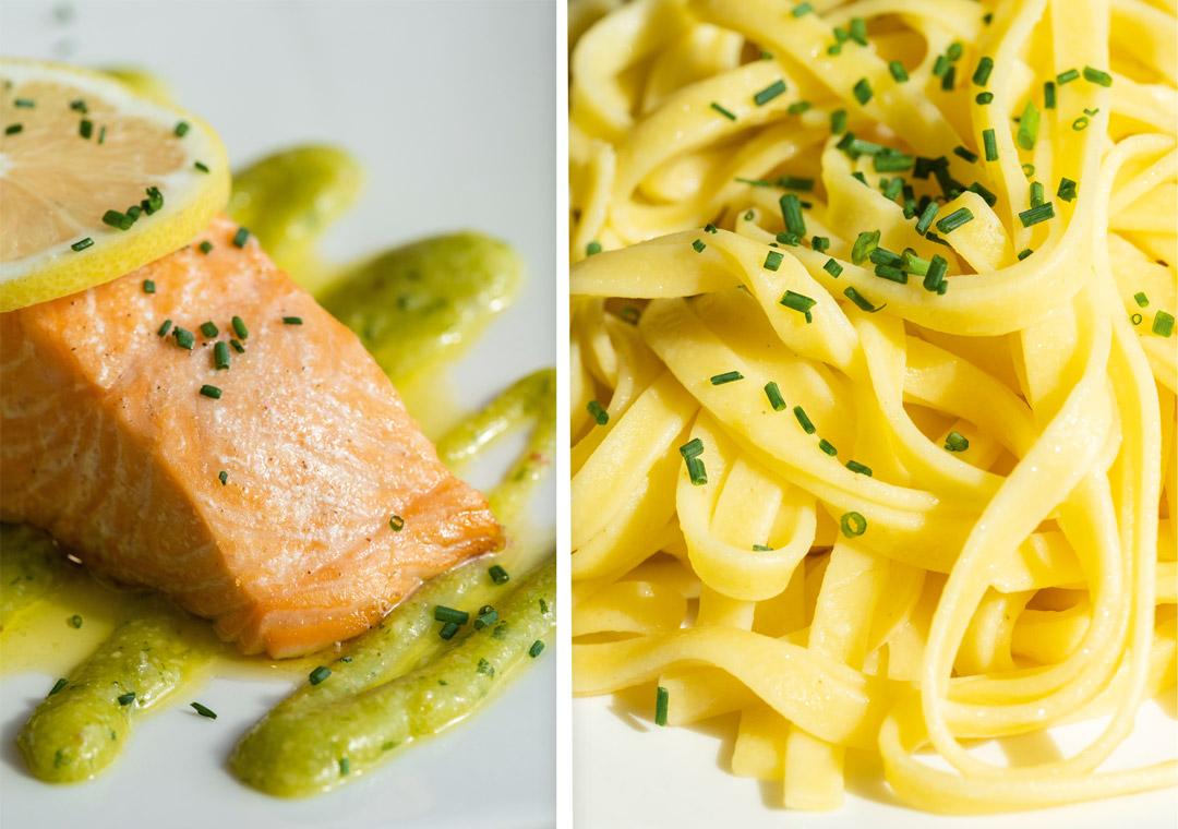 restaurant saint contest atelier gourmand pave de saumon